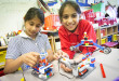 Harrow Times: Mother uses electric drums and Lego cranes to help teach engineering to children